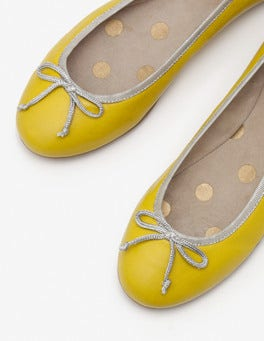Mimosa Yellow Ballerinas