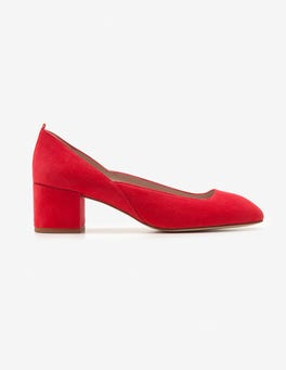 Carnival Pink Hope Mid Heel Pumps