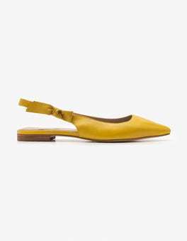 Mimosa Yellow Hilary Slingbacks