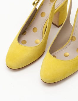 Mimosa Yellow Sena Slingbacks