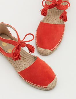 Red Pop Candice Espadrilles