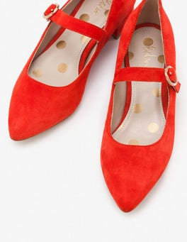 Red Pop Rosabel Heels
