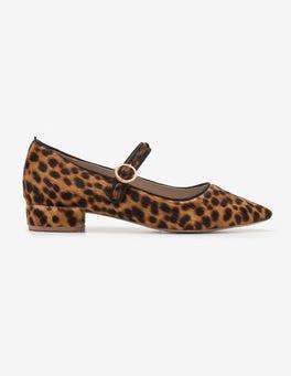 Hellbraun, Leopardenmuster Rosabel Pumps