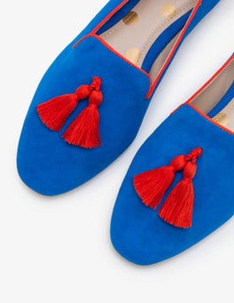 Ultra Blue Rowan Slipper Shoes