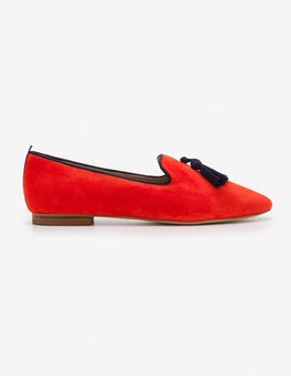 Red Pop Rowan Slipper Shoes