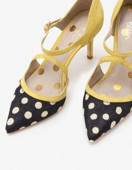 Mimosa Yellow Tisha Heels