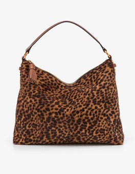Tan Leopard Renee Shoulder Bag