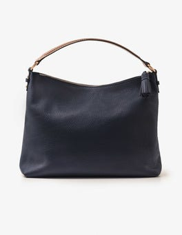 Navy Renee Shoulder Bag