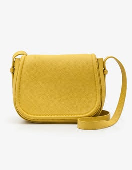 Mimosa Yellow Tabitha Saddle Bag