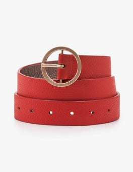 Red Pop Classic Belt