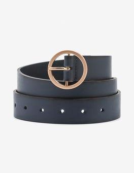 Navy Classic Belt