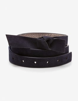 Navy Sena Waist Belt