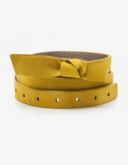Mimosa Yellow Sena Waist Belt