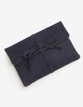 Navy Remi Clutch Bag