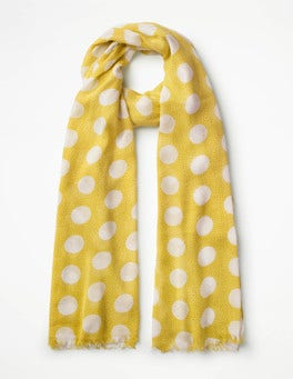 Mimosa Spot  Printed Scarf