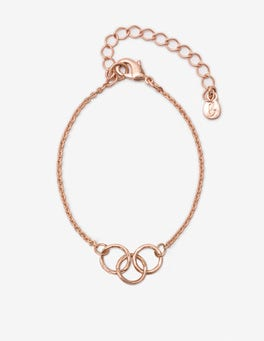Antique Rose Gold Metallic Marcella Bracelet