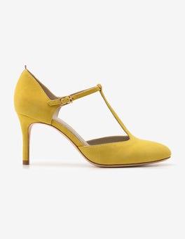 Mimosa Yellow Whitney Mid Heels