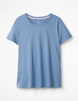 Soft Blue Supersoft Easy Tee