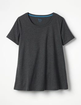 Charcoal Marl Supersoft Easy Tee