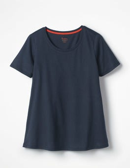 Navy Supersoft Easy Tee