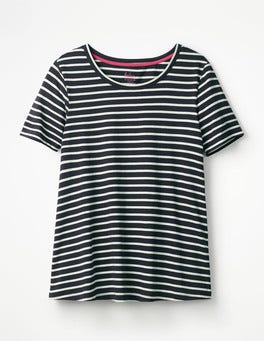 Navy/Ivory Supersoft Easy Tee