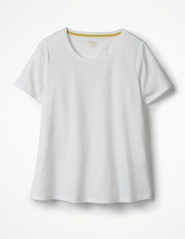 White Supersoft Easy Tee