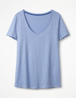 Hazy Blue The Cotton Voop Tee