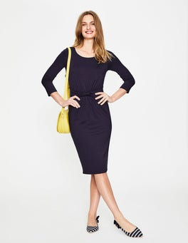 Navy Michelle Jersey Dress