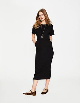 Black Vanessa Jersey Dress