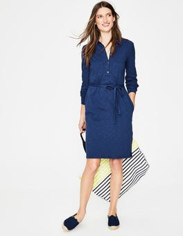 Mariner Blue Jena Jersey Shirt Dress