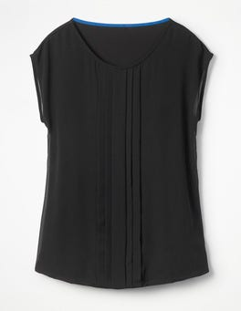 Black Dakota Jersey Top