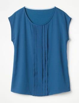 Riviera Blue Dakota Jersey Top