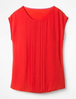 Red Pop Dakota Jersey Top