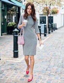 Sarah Jacquard Dress