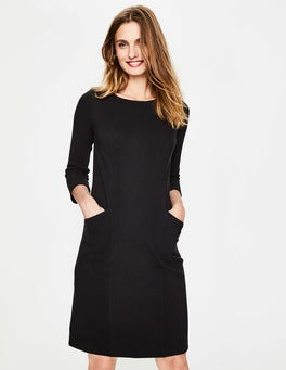Black Trinity Jersey Dress