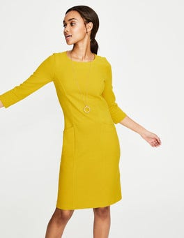 Mimosa Yellow Trinity Jersey Dress