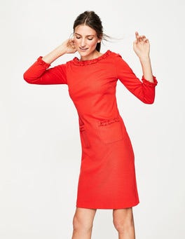 Red Pop Miranda Ponte Dress