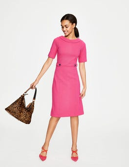 Carnival Pink/Navy Betty Ottoman Dress
