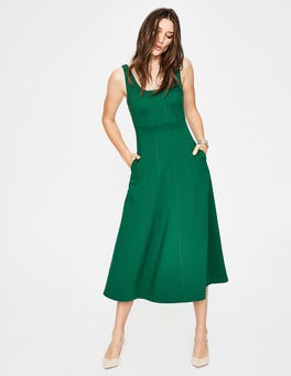 Sap Green Callie Ponte Dress