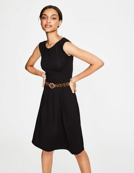 Black Marina Jersey Dress