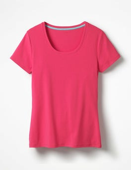 Carnival Pink Essential Short Sleeve Tee
