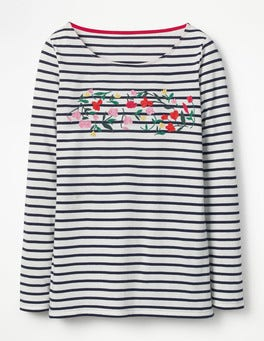 Embroidered Meadow Make A Statement Breton
