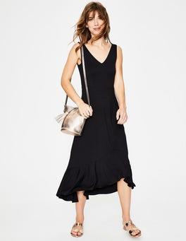 Black Elisa Jersey Dress