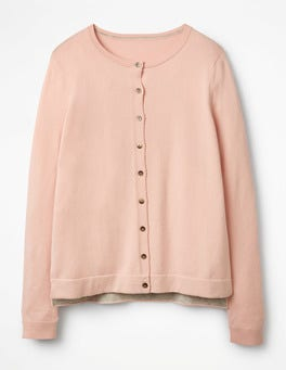 Pink Frosting Favourite Crew Cardigan
