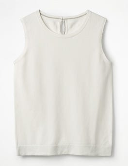 Ivory Favourite Knitted Tank