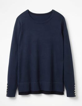 Navy Tilly Sweater