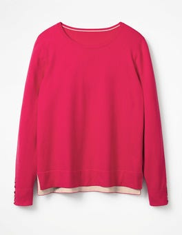 Carnival Pink Tilly Sweater