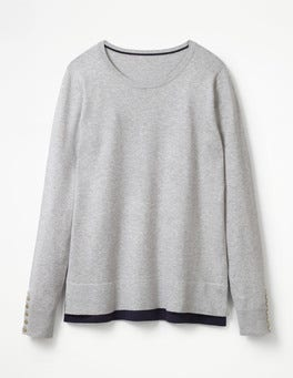 Silver Melange Tilly Jumper