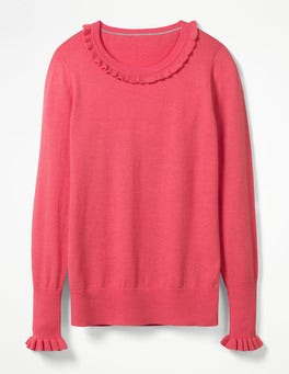 Coral Sunset Bernadette Jumper