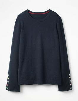 Navy Caprice Sweater